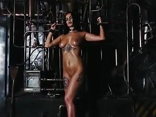 Cutie with big boobs in hardcore bondage scene BDSM porn
