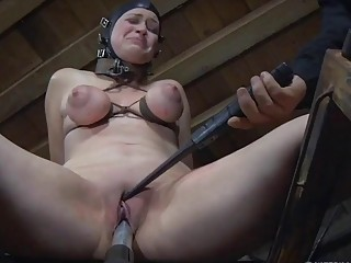 Sluts Harley Ace and Winnie Rider toyed by master BDSM