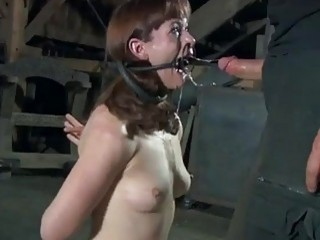 Slave slut Hazel Hypnotic totally destroyed by maledom master BDSM