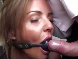 Busty sub MILF Sienna Hudson fucked hard and rough BDSM