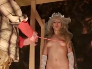 Young bride nipple tortured by horny master BDSM fetish compilation
