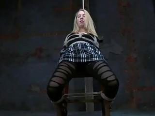 Cyd Black and Sarah Jane Ceylon extreme bondage BDSM porn