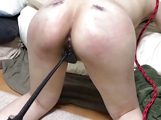 Big booty babe gets punished and fucked very fucking hard