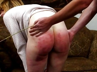Skinny babe with small titties gets her ass whipped hard