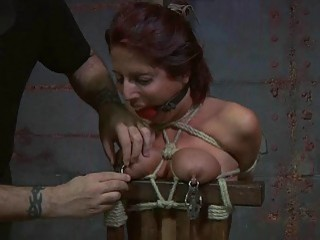 Impressive redhead can really put up with lots of humiliation