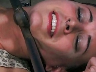 Slave girl gets it hard from her master BDSM porn