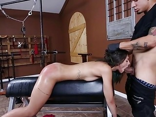 Passionate hardcore sex and fisting for a horny humiliated chick