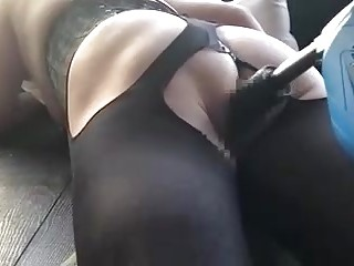BDSM sub slut in lingerie takes it in the ass