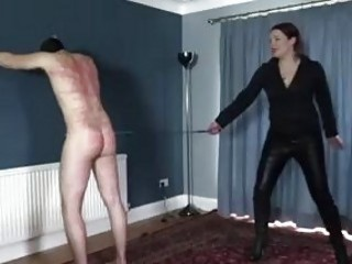 Goddess knows how to make slave suffer BDSM fetish porn