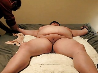 BBW cumdump gets handled by a real dominant alpha male