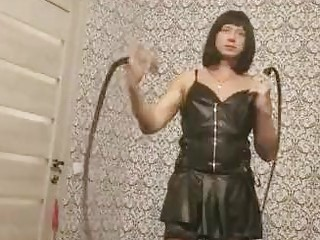 Tantalizing crossdresser needs someone for kinky BDSM and raw bondage