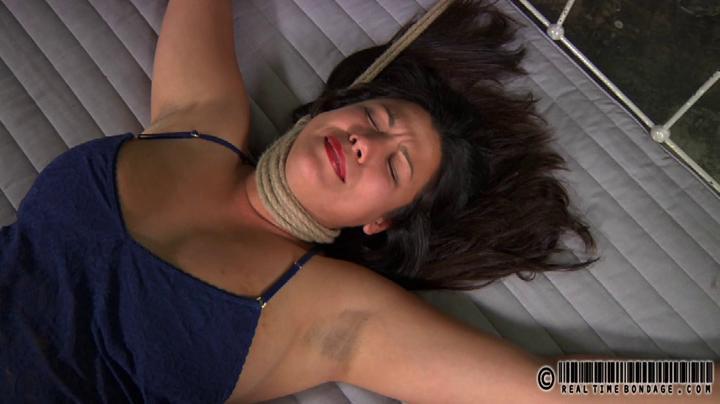 slut hung from her neck